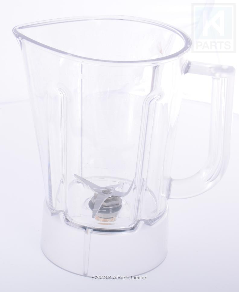 Kitchenaid artisan blender polycarbonate jar with blades ebay - Kitchenaid blender parts uk ...