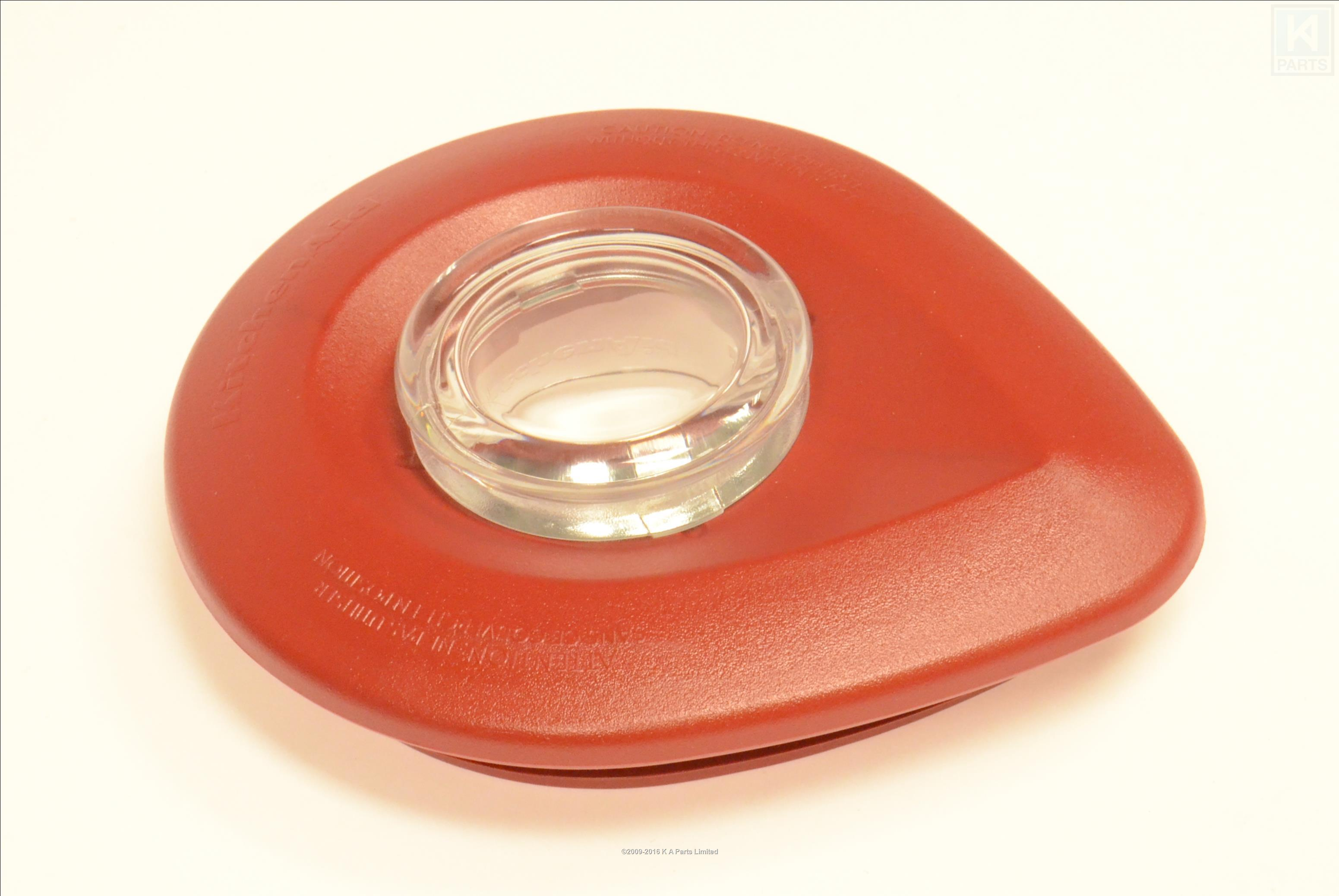W10415985 kitchenaid blender lid red also w10236597 ebay - Kitchenaid blender parts uk ...
